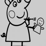 Peppa Pig Pictures to Print New Cartoon Pig Coloring Pages Kanta