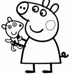 Peppa Pig Pictures to Print New Fresh Peppa Pig Muddy Puddles Coloring Pages – Nicho