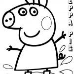 Peppa Pig Pictures to Print Unique Beautiful Muddy Pig Coloring Pages – Tintuc247