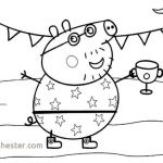 Peppa Pig Pictures to Print Unique Peppa Pig Coloring Page Lovely Peppa Pig Coloring Pages Unique Peppa