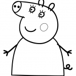 Peppa Pig Pictures to Print Unique Peppa Pig Coloring Pages Bratz Coloring Pages