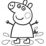 Peppa Pig Printables Brilliant Unique Peppa Pig Characters Coloring Pages – Howtobeaweso