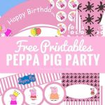 Peppa Pig Printables Inspired Free Peppa Pig to Colour