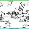 Peppa Pig Printables Inspired Pig Coloring Pages