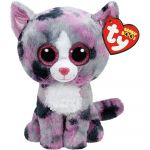 """Pics Of Beanie Boos Elegant Pyoopeo Ty Beanie Boos 6"""" 15cm Pink Lindi Cat Plush toy with Heart"""