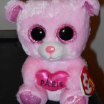 """Pics Of Beanie Boos Inspired Ty Beanie Boos Paris the 6"""" Bear Exclusive New with Mint Tags"""