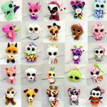 Pictures Of Beanie Boos New 2019 Ty Beanie Boos Plush Keychain toys Big Eyes Stuffed Animals