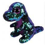 Pictures Of Beanie Boos Unique 2019 Ty Beanie Boos 6 15cm Sequin Crunch the Dinosaur Plush Regular
