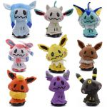 Pictures Of Eevee Brilliant 9 Styles 20 30 Cm Plush Hot toys Mimikyu Cosplay Sylveon Umbreon