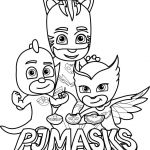 Pictures Of Gecko From Pj Masks Amazing Pj Masks Coloring Sheets