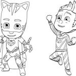 Pictures Of Gecko From Pj Masks Best Catboy Printable Coloring Pages Felszamolas