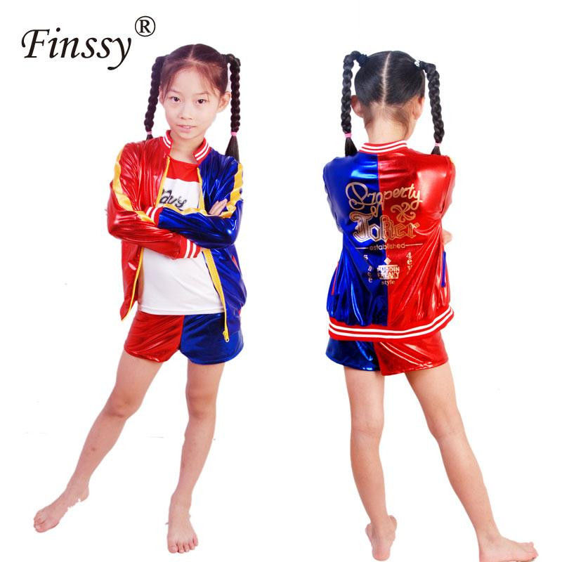 Pictures Of Harley Quinn for Kids Inspiring Movie Suicide Squad Harley Quinn Cosplay Costume for Kids Girls