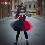 Pictures Of Harley Quinn for Kids Wonderful 2019 Harley Quinn Girls Tutu with Headband and Mask Joker Fancy