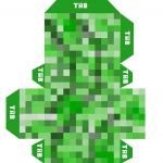 Pictures Of Minecraft Creeper Brilliant Minecraft Printables Creeper Minecraft Creeper Free