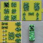 Pictures Of Minecraft Creeper Inspired 3d Minecraft Creeper 3d Perler Beads
