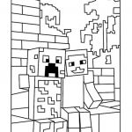 Pictures Of Minecraft Creeper Marvelous Awesome Printable Coloring Pages Minecraft