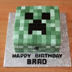 Pictures Of Minecraft Creeper Wonderful Minecraft Creeper Cake A Minecraft Creeper Cake for An 8 Year Old