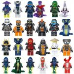 Pictures Of Ninjago Characters Inspirational Us $13 44 Off 24pcs Lot Ninjago Movie Building Blocks Baby toys Garmadon Snake Army Angier Puffer Lantern Fish Lead Crab Octopus In Blocks From