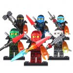Pictures Of Ninjago Characters Inspired Hands Of Time W Ninja with Copper Time Blade Cole Kai Jay Lloyd Nya Zane Figure Black Armor Mini Building Blocks toy Figure Decool