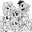 Pictures Of Ponies to Color Inspirational 23 Coloring Pages My Little Pony Friendship is Magic Collection