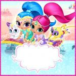 Pictures Of Shimmer and Shine Inspiration Shimmer and Shine Invitation Template – Mjangir