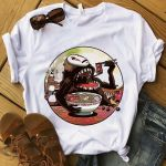 Pictures Of Sin Cara Inspirational No Face Eating Ramen Studio Ghibli T Shirt Short Sleeve Plus Size T