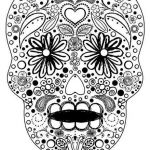 Pictures Of Sugar Skulls Exclusive Sugar Skull Sheets New Skull Coloring Pages Lovely S S Media Cache