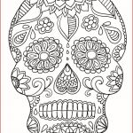 Pictures Of Sugar Skulls Marvelous Sugar Skull Coloring Pages Cool Coloring Page Unique Witch