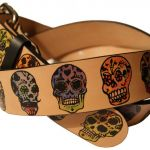 Pictures Of Sugar Skulls Pretty Buy A Custom Sugar Skulls Day the Dead Leather Belt Made to