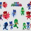 Pictures Of the Pj Masks New Pyjamasques Logo Black and White Clipart Fresh Printables Pj Masks