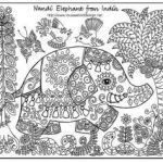 Pictures to Color for Adults Marvelous √ Elephant Adult Coloring Pages and Color Page New Children