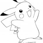 Pikachu Coloring Book Marvelous 5 Best Pikachu Coloring Pages 91 Gallery Ideas