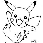 Pikachu Coloring Pages Best New Pikachu and Friends Coloring Pages – Howtobeaweso