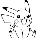 Pikachu Coloring Pages Inspiration Pikachu Coloring Pages Unique Pikachu Pokemon Coloring Pages