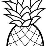 Pineapple Coloring Book Beautiful 212 Best Food Coloring Pages Images In 2017