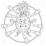 Pineapple Coloring Book Creative Cooloring Book Tar Coloring Books why for Adults to Make' Kids