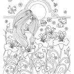 Pineapple Coloring Book Inspiration that 60s Coloring Book 25 Hippie Inspired Adult Coloring Pages