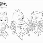 Pj Masks Coloring Pages Amazing Pj Mask Sketch at Paintingvalley