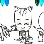 Pj Masks Coloring Pages Creative Coloring Page Colorings to Color Pj Masks Santa Claus Colouring