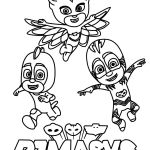 Pj Masks Coloring Pages Inspiring Jvzooreview Part 7