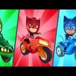 Pj Max Pictures Inspiration Videos Matching Pj Masks Racing Heroes Race with Catboy Owlette