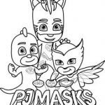 Pj Max Pictures Inspirational 70 Best Pj Mask Coloring Pages Images