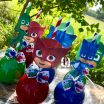 Pj Max Pictures Inspired Pj Mask Inspired Can D Apples Shic Treats In 2019