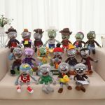 Plant Vs Zombies Pictures Awesome 25 Model Zombies Plush soft toys Plants Vs Zombies Cake Dolls toys