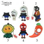 Plant Vs Zombies Pictures Inspired Usb Flash Drive Pendrive Usb 64gb 32g16g8g4g Flash Drive Classic