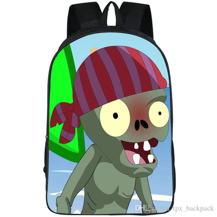 Plant Vs Zombies Pictures Wonderful Pvz Backpack Plants Vs Zombies Day Pack Hot Game School Bag Leisure