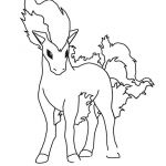 Poke Mon Coloring Pages Awesome Ponyta Pokemon Coloring Page Color Me A Rainbow ✏
