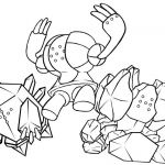 Poke Mon Coloring Pages Inspiring Regigigas Coloring Pages at Getdrawings