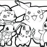 Pokemon Coloring Pages Free Best Of Pokemon Coloring Pages for Kids at Getdrawings