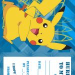 Pokemon Free Printables Amazing Pokemon Coloring Pages Birthday Party Invitation Free and Printable